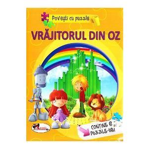 Vrajitorul din Oz (Povesti cu puzzle) imagine