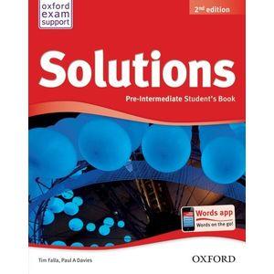 Solutions 2nd Edition Pre-Intermediate: Student's Book imagine