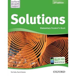 Solutions 2nd Edition Elementary: Student's Book imagine
