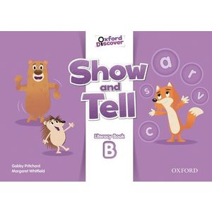 Show and Tell Literacy Book A imagine