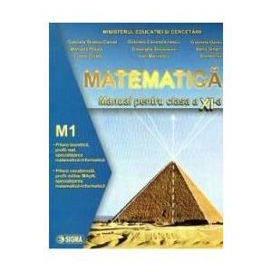 Manual matematica clasa a 11-a M1 - Gabriela Streinu-Cercel Gabriela Constantinescu Gabriela Oprea imagine