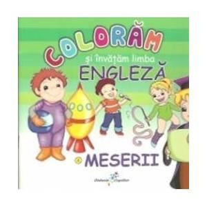 Meserii - Coloram si invatam limba engleza imagine
