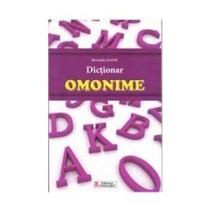 Dictionar omonime - Alexandru Emil M. imagine