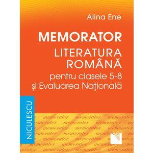 Memorator. Literatura română pentru clasele 5-8 şi Evaluarea Naţională imagine