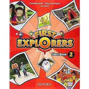 First Explorers Level 2 Class Book imagine