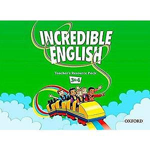 Incredible English 3 & 4 Teacher's Resource Pack- REDUCERE 50% imagine