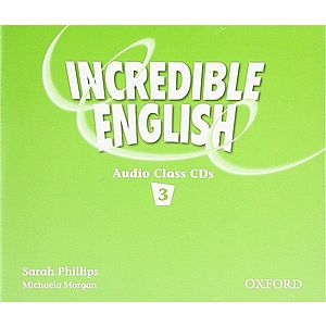 Incredible English 3 Class Audio CD- REDUCERE 50% imagine