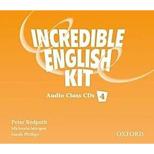 INCREDIBLE ENGLISH 4 CL CD- REDUCERE 50% imagine