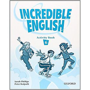 INCREDIBLE ENGLISH 6 Activity Book- REDUCERE 50% imagine