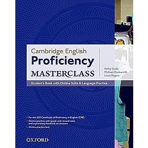Cambridge English: Proficiency (CPE) Masterclass SB with Online Skills and Language Practice Pack imagine