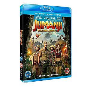 Jumanji: Aventura in jungla 2D+3D (Blu Ray Disc) / Jumanji: Welcome to The Jungle | Jake Kasdan imagine