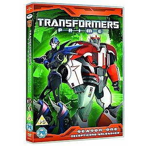 Transformers Prime - Sezon 1 - Disc 3 / Transformers Prime - Season 1 - Disc 3 | David Hartman, Shaunt Nigoghossian imagine