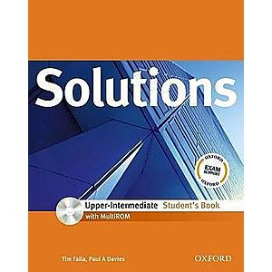 Solutions Upper-Intermediate Student's Book with MROM Pack- REDUCERE 50% imagine