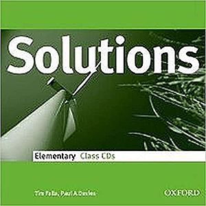 Solutions Elementary Class Audio CDs (3)- REDUCERE 50% imagine