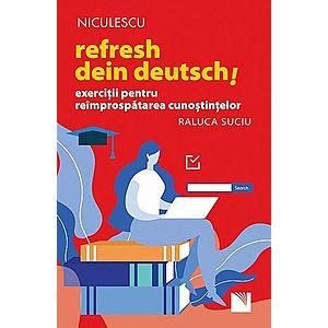 Refresh dein Deutsch! Exerciții pentru reîmprospătarea cunoștințelor. imagine
