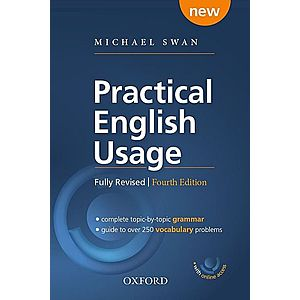 Practical English Usage Paperback 4E with online access imagine