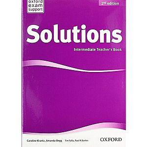 Solutions 2nd Edition Intermediate: Teacher's Book imagine
