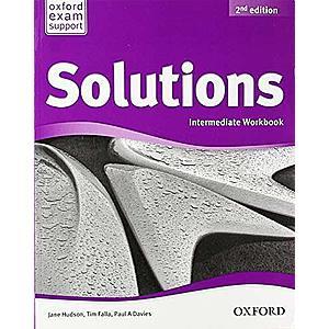 Solutions 2nd Edition Intermediate Workbook imagine