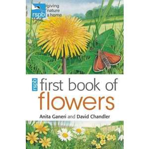 RSPB First Book of Flowers imagine