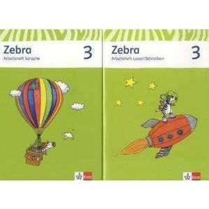 Zebra. Neubearbeitung. Paket (Arbeitsheft Sprache und Arbeitsheft Lesen und Schreiben) 3. Schuljahr imagine