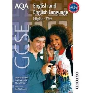 AQA GCSE English and English Language Higher Tier imagine