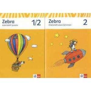 Zebra. Neubearbeitung. Schuelerpaket (Arbeitsheft Sprache, Arbeitsheft Lesen und Schreiben 2. Schuljahr) imagine