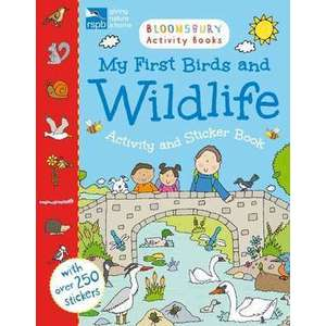 RSPB My First Birds and Wildlife Activity and Sticker Book imagine