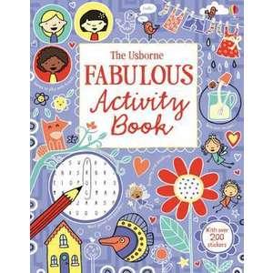 The Usborne Fabulous Activity Book imagine