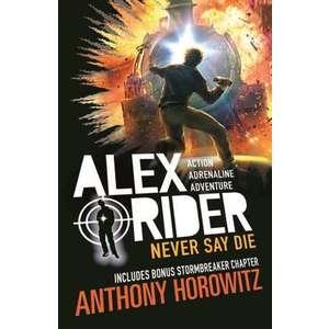 Alex Rider 11: Never Say Die imagine