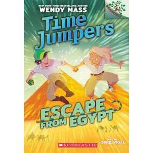 Escape from Egypt: A Branches Book (Time Jumpers #2), Volume 2 imagine