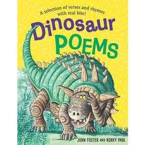 Dinosaur Poems imagine