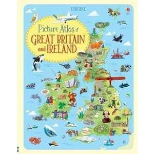Picture Atlas of Great Britain & Ireland imagine