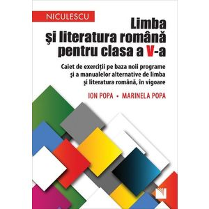 Limba și literatura română pentru clasa a V-a. Caiet de exerciții imagine