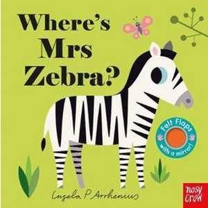 Where's Mrs Zebra? imagine