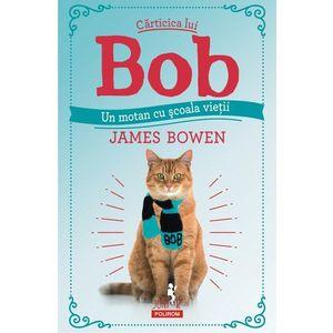 Carticica lui Bob, un motan cu scoala vietii | James Bowen imagine