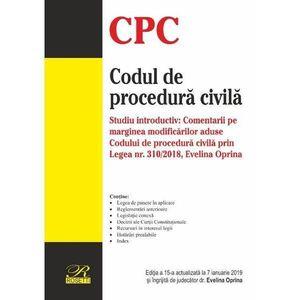 Codul de procedura civila | Evelina Oprina imagine