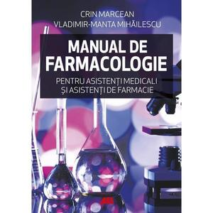 Manual de farmacologie | Crin Marcean, Vladimir-Manta Mihailescu imagine