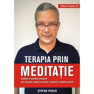 Terapia prin meditatie   Stefan Pusca imagine