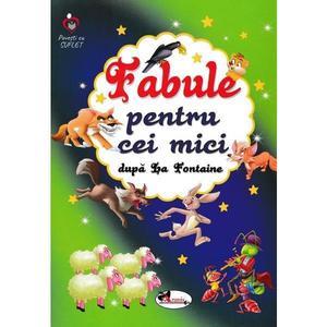Fabule pentru cei mici   Jean De La Fontaine imagine