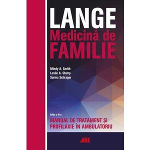 LANGE. Medicina de familie   Leslie A. Shimp, Mindy A. Smith, Sarina Schrager imagine