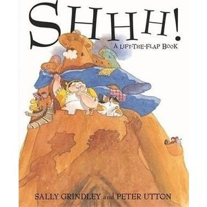 Shhh! Lift-the-Flap Book imagine