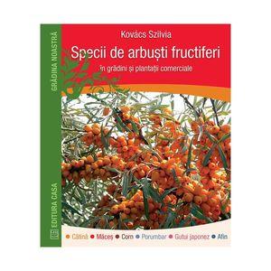 Specii de arbuşti fructiferi în grădini şi plantaţii comerciale imagine