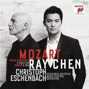 Mozart: Violin Concertos & Sonata | Wolfgang Amadeus Mozart, Ray Chen, Christoph Eschenbach imagine