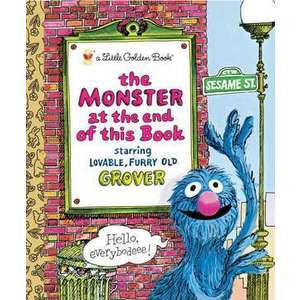 The Monster at the End of This Book (Sesame Book) imagine