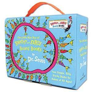 The Little Blue Box of Bright and Early Board Books by Dr. Seuss imagine