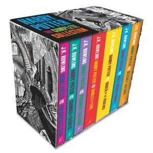 Harry Potter Boxed Set: The Complete Collection (Adult Paperback) imagine