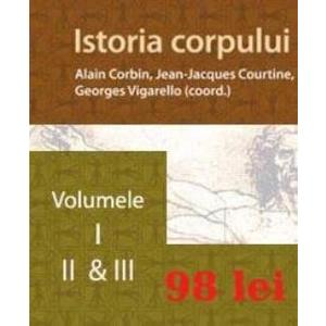 Set Istoria corpului vol. I, II. III imagine