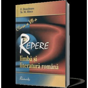 Repere cls a VII-a limbă şi literatură română imagine