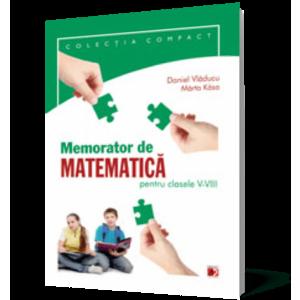 Memorator de matematică pentru clasele V-VIII imagine