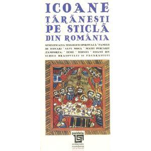 Icoane taranesti pe sticla din Romania bilingv imagine